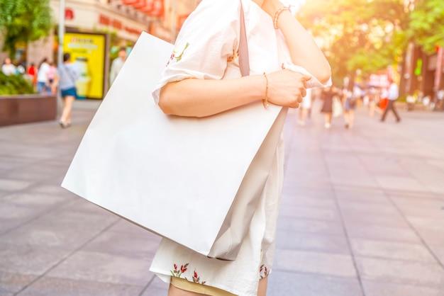 Sacos de viagem bolsas de compras bolsas de finanças de consumo