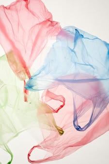 Sacos plásticos coloridos
