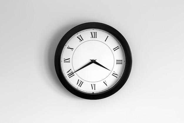 Sad clock roman dial