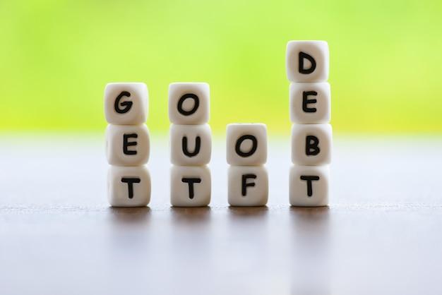 Saia do conceito de dívida
