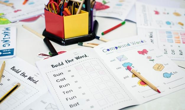 Sala de aula de escola primária