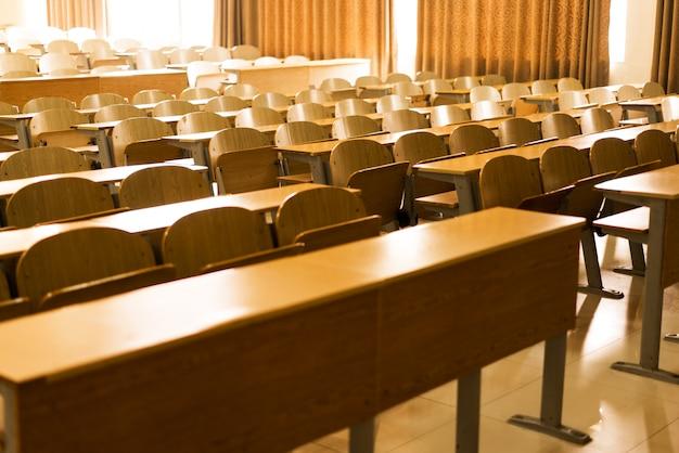 Sala de aula de escola secundária coreana