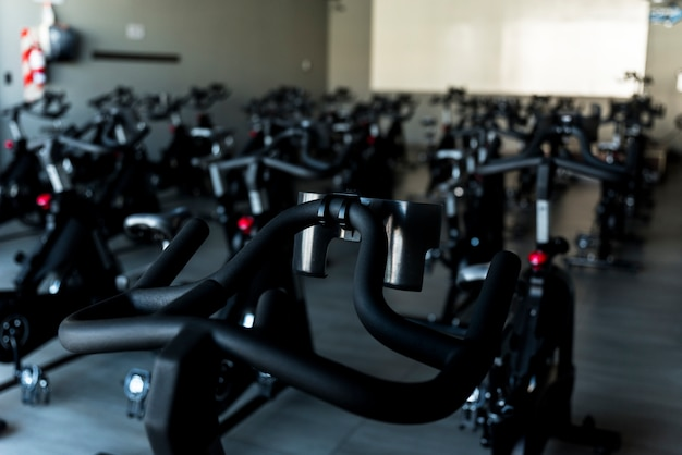 Sala de bicicleta estacionária
