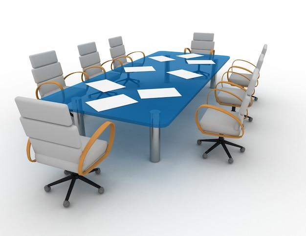 Sala de conferências 3d