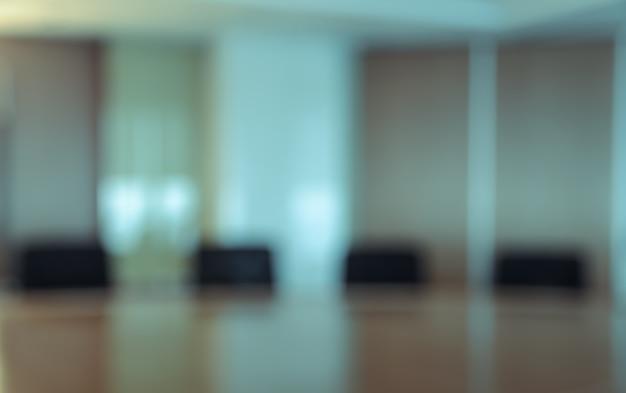 Sala de conferências turva para plano de fundo