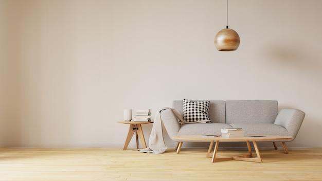 Sala de cozinha interior. renderização em 3d.