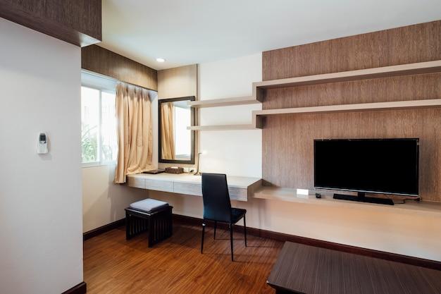 Sala de estar no apartamento