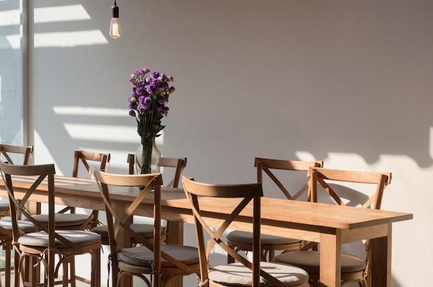 Sala de estar no café