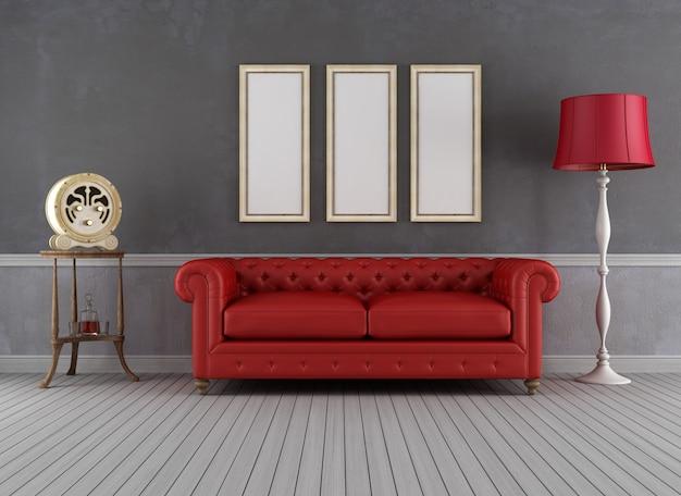 Sala de estar vintage