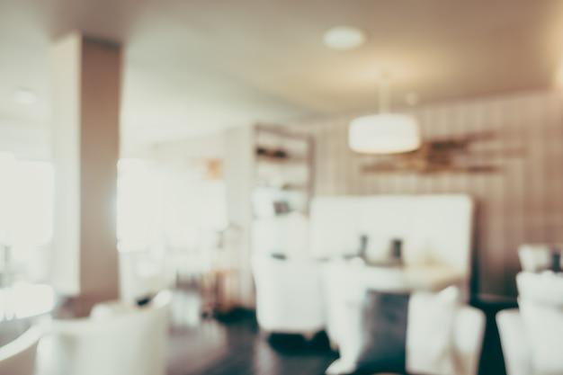 Sala de jantar turva