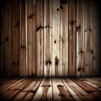Sala de madeira