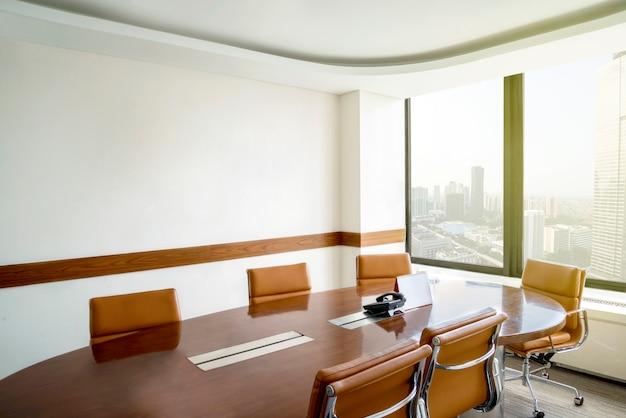 Sala de reunião corporativa