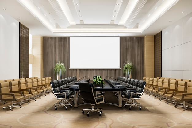 Sala de reunião seminário