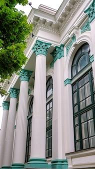 Sala do órgão em chisinau, moldávia