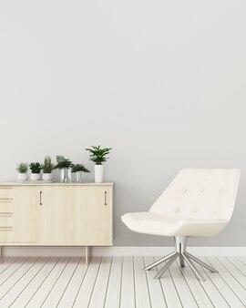 Sala luminosa e minimalista