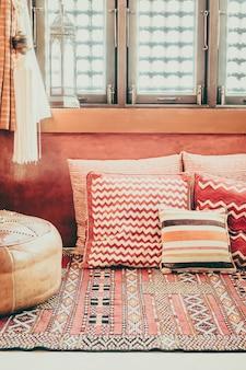 Sala mobiliário interior oriental sofá