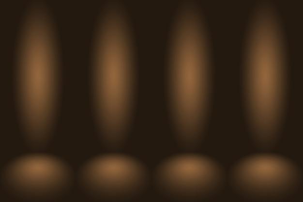 Sala vazia de fundo abstrato gradiente com espaço para seu texto e imagens