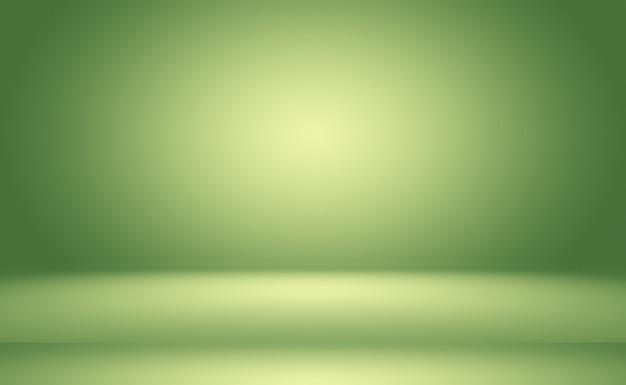 Sala vazia do fundo abstrato gradiente verde com espaço para o seu texto e imagens. Foto gratuita