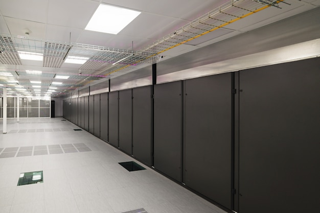 Sala vazia do servidor