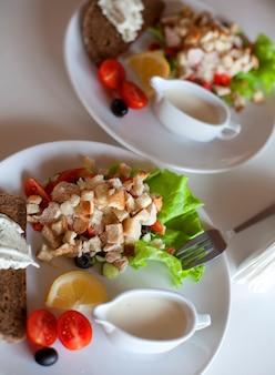 Salada caesar tradicional