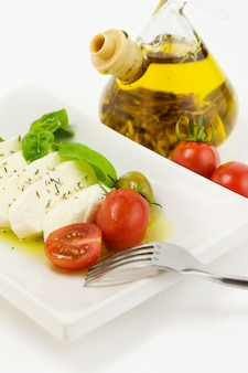 Salada caprese italiana
