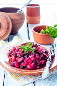 Salada de beterraba vinegret