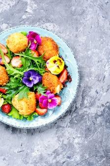 Salada de verão colorida