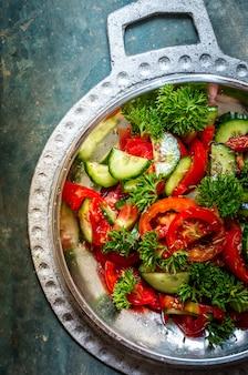 Salada de verão com cominho