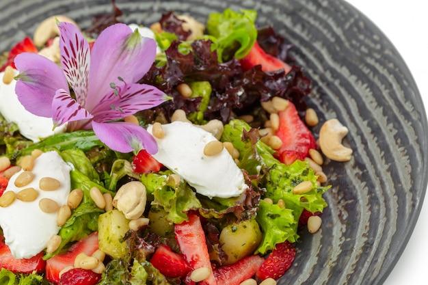 Salada fresca de mistura