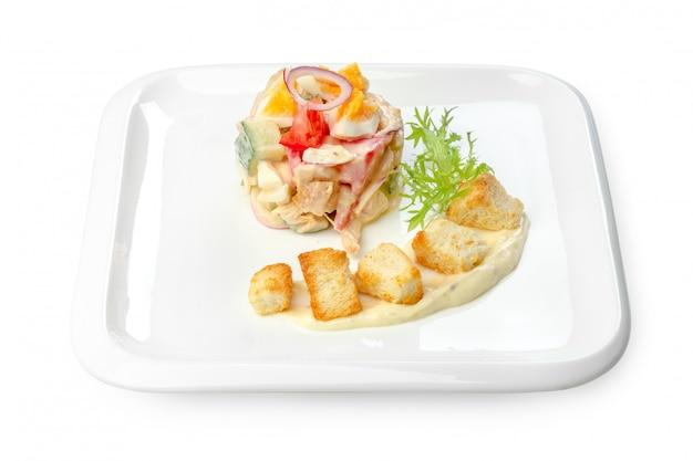 Salada isolada