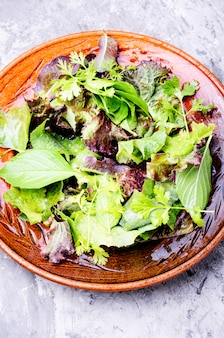 Salada mista fresca