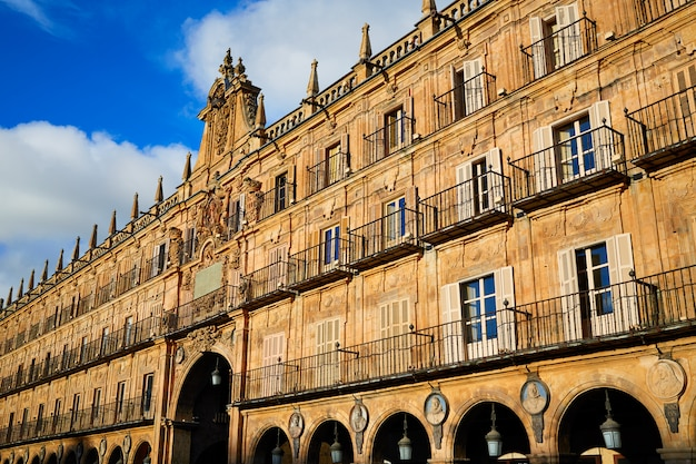 Salamanca plaza mayor em espanha