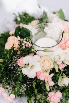 Salão de banquetes para casamentos, decoração de salão de banquetes, decoração atmosférica