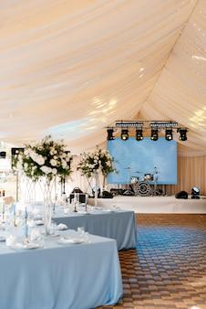 Salão de banquetes para casamentos, decoração de salão de banquetes