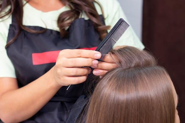 Salão de beleza cabeleireiro feminino