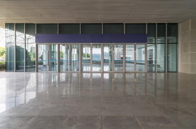 Salão de exposições hall de entrada