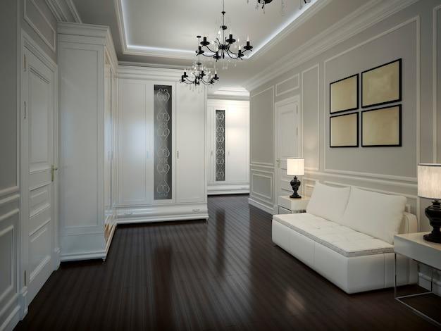 Salão interior em estilo art déco