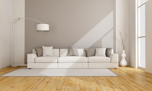 Salão minimalista