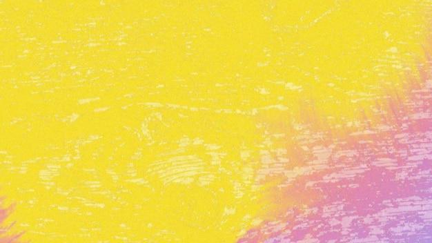 Salpicos amarelos e roxos abstratos e ruído, fundo escuro do grunge. estilo de ilustração 3d dinâmico elegante e luxuoso para modelo moderno e de rua