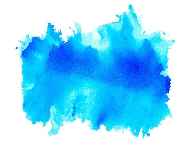 Salpicos de aquarela azul