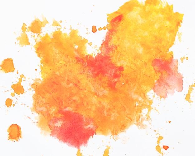 Salpicos de tinta quente