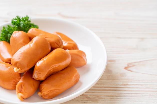Salsicha de coquetel de frango