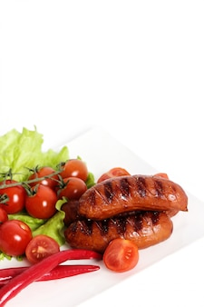 Salsicha grelhada