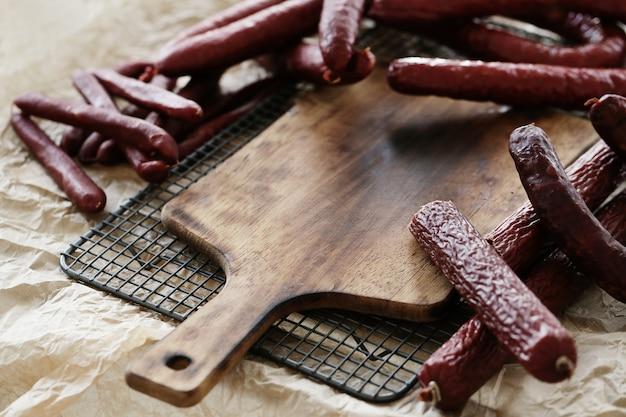 Salsichas deliciosas