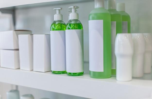Salud cuidado da pele rótulo beleza natural