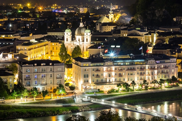 Salzburgo austria night