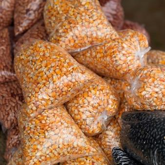 San ignacio, sacos de feijão