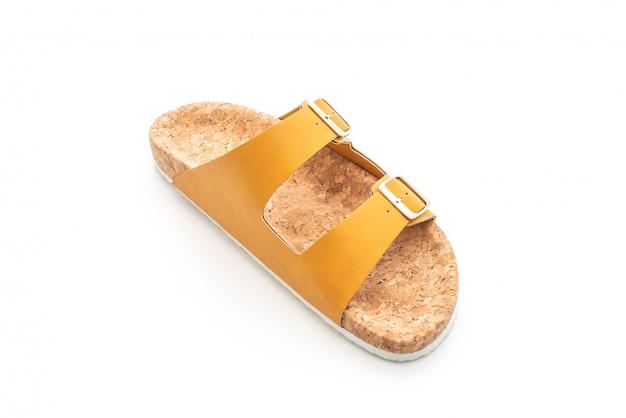 Sandálias de couro de moda masculina e feminina (unissex)