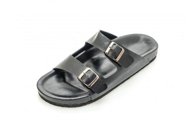 Sandálias de couro dos homens