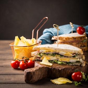 Sanduíche fresco